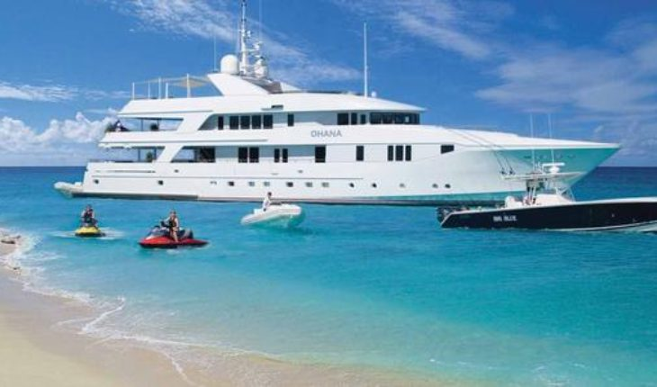 Life on the sea for the rich